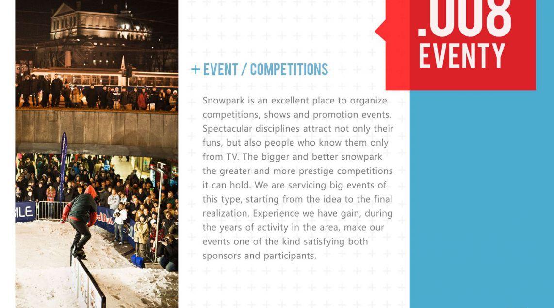 Event Snowpark - Galeria Krakowska - Poland