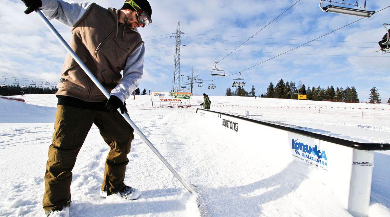 Obsługa snowparku w Białce Tatrzańskiej - Kotelnica Białczańska
