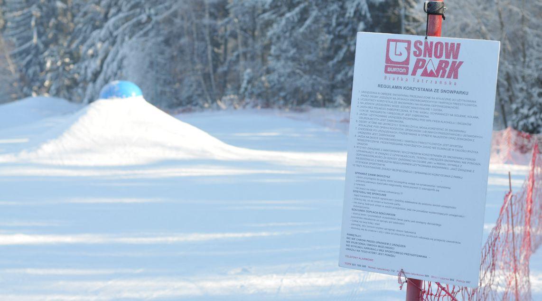 Regulamin snowparku