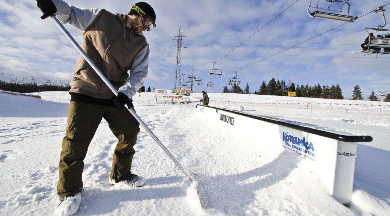 Obsługa snowparków