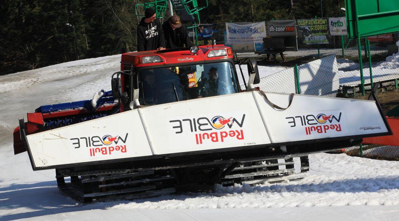 Obsługa snowparku w Koninakach