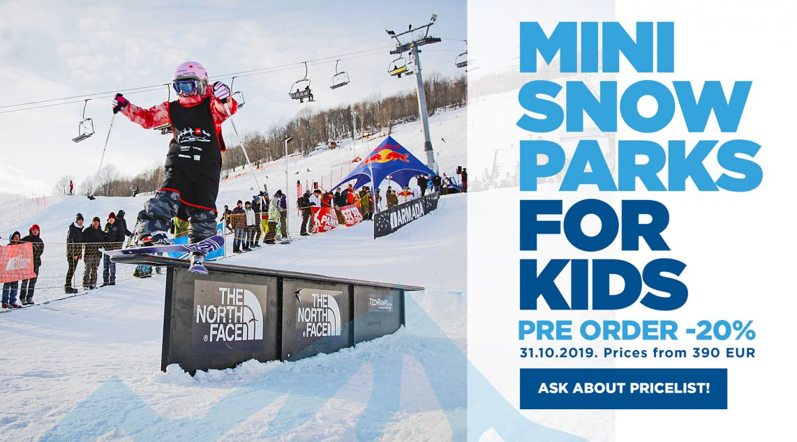 PREORDER SNOWPARKS FOR KIDS