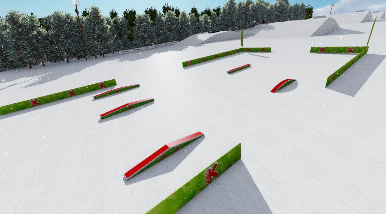 Mini Snowpark Arena Słotwiny